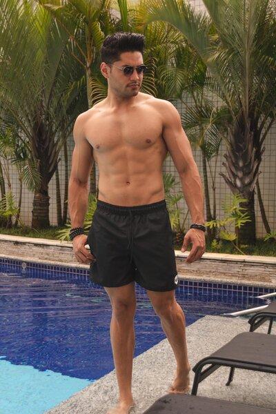 Shorts Basic - Preto