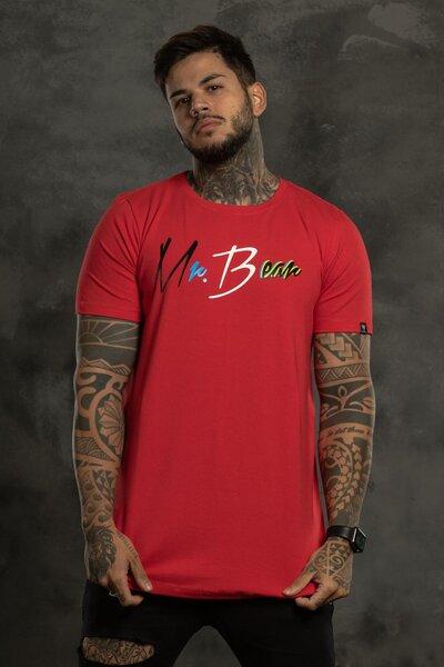 Camiseta Collor Trip - Vermelho