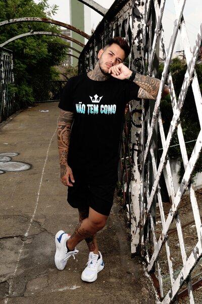 Camiseta Drained - Preto
