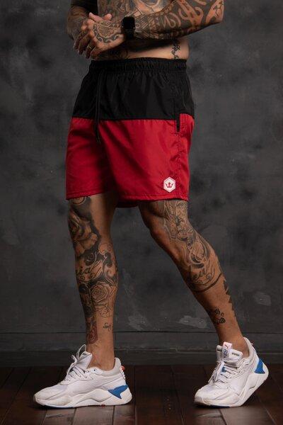 Shorts Two Collor - Vermelho