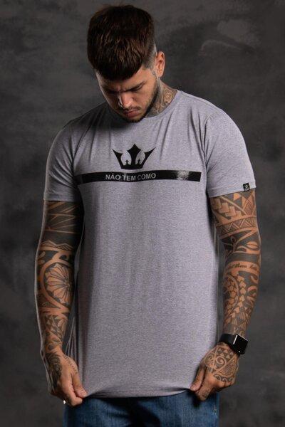 Camiseta Strip Crown - Mescla