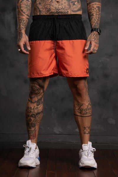 Shorts Two Collor - Laranja