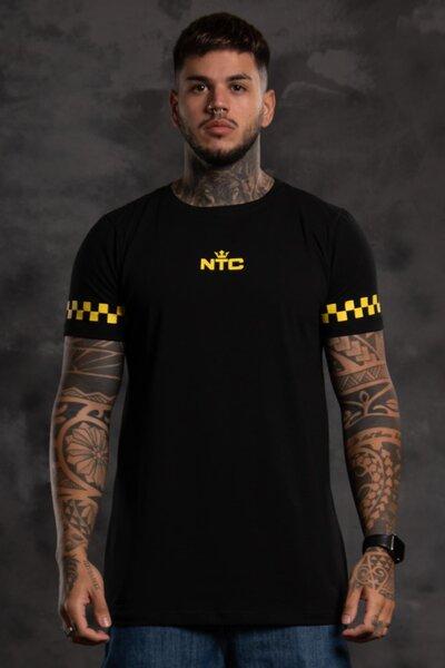 Camiseta New Basic v2 - Preta com Amarelo