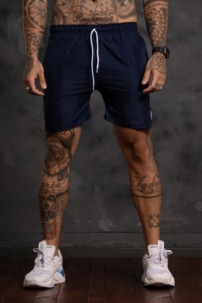 Shorts Basic - Azul Marinho