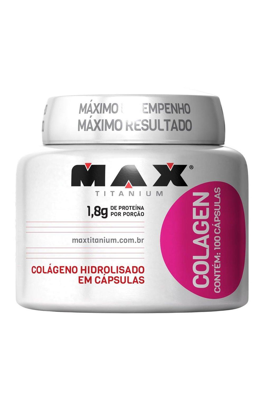6f6c2eb1f COLAGENO MAX TITANIUM - 100 CÁPSULAS - Nutry