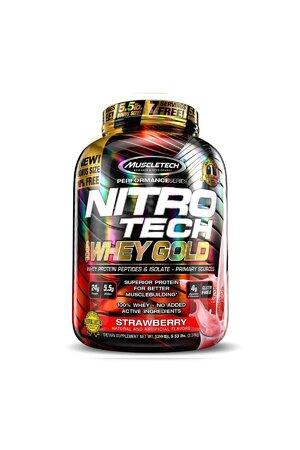 NITRO TECH 100% WHEY GOLD - 5 LBS