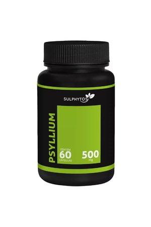 Psyllium - 500mg - 60 caps