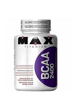 Bcaa 2400 - 60 Capsulas Max Titanium