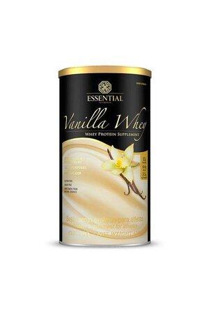 Vanilla Whey Protein Supplement Essential Nutrition 450g