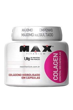 COLAGENO MAX TITANIUM - 100 CÁPSULAS