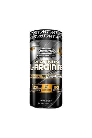 PLATINUM 100% L-ARGININE (100CAPS) - MUSCLETECH