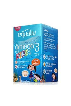 Equaliv Ômega 3 Kids 60 Cápsulas