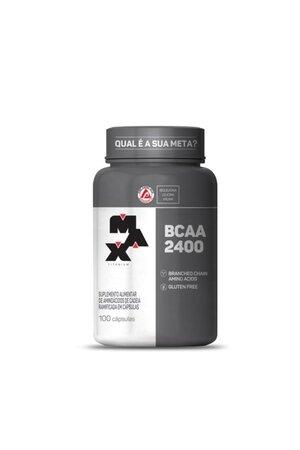 BCAA 2400 - Max Titanium - 100 capsulas