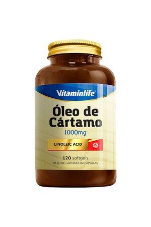 Óleo de Cártamo - 1000mg - 120 Capsulas - Vitaminlife