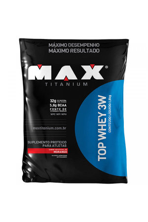 Top Whey 3W Refil - 1,8kg - Max Titanium