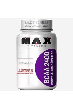 BCAA 2400 - Max Titanium - 200 capsulas