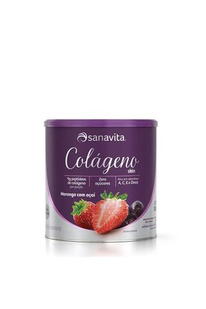 Colágeno Em Pó - Sanavita - 300g