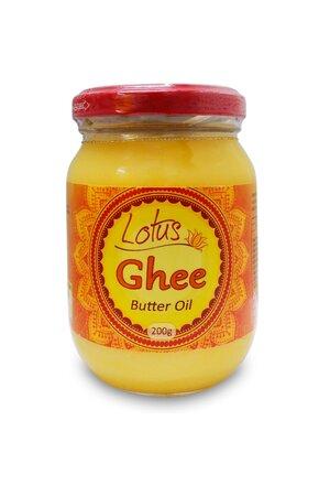 Manteiga Ghee Indiana Clarificada Douradinho - Lótus - 200g
