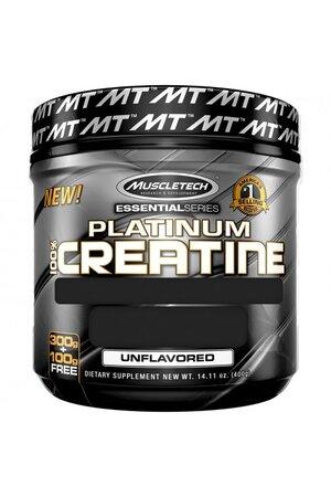 PLATINUM 100% CREATINE (400G) - MUSCLETECH