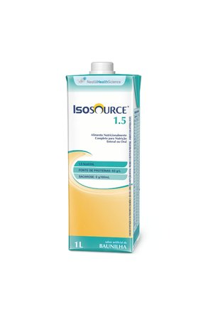 Isosource 1.5 Tetra Square - 1 L - Nestlé Health Science