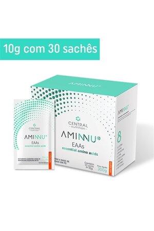 Aminnu Eaas 10g, 30 Sachês, Essencial Aminoácidos