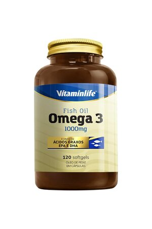 ÔMEGA 3 1000MG (120 CAPS) - VITAMINLIFE