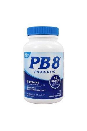 PB8 Acidófilo Probiótico (120 caps) - Nutrition Now
