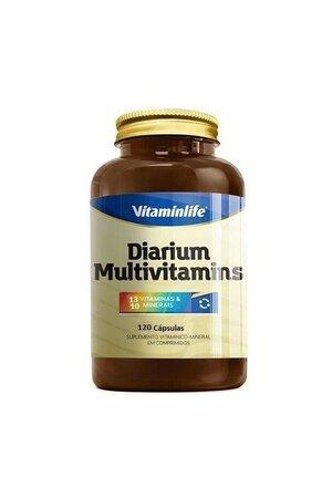 diarium (12 vitaminas e 9 minerais) 120 cápsulas - vitaminlife