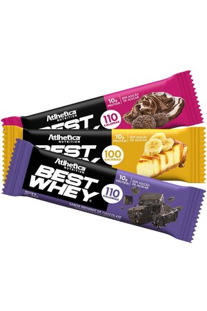 Best Whey Bar (30g) Atlhetica Nutrition