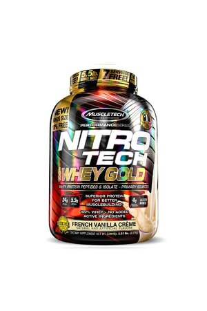 NITRO TECH 100% WHEY GOLD - 5 LBS