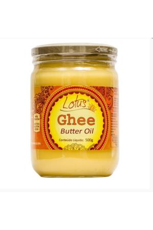 Manteiga Ghee Indiana Clarificada Douradinho - Lótus - 500g