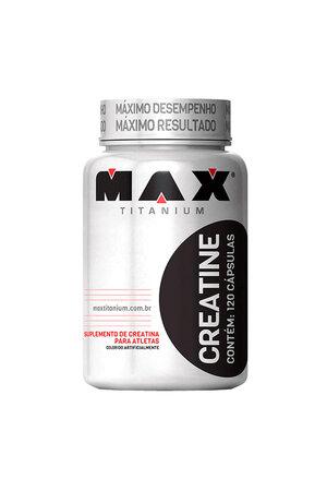 Creatina - Max Titanium - 120 capsulas