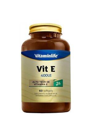 Vitamina E - 60 CAP - VitaminLife