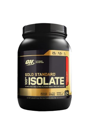 WHEY PROTEIN GOLD STANDARD 100% ISOLATE - OPTIMUM NUTRITION