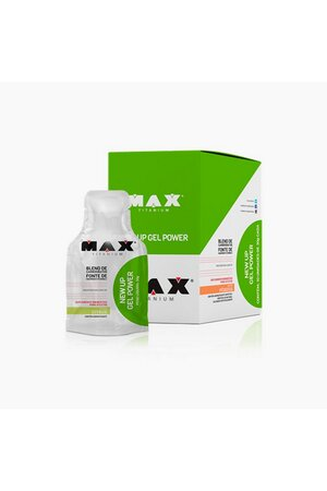 Caixa New Up Gel Power - 10 Sachês - Max Titanium