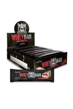 Whey Bar Darkness c/8 barras - Integralmedica