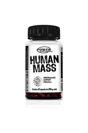 HUMAN MASS 60 CÁPSULAS - POWER SUPPLEMENTS