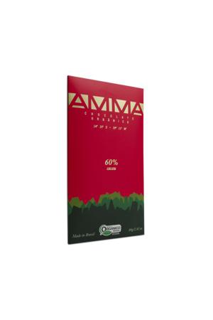 Chocolate Orgânico 60% Cacau - Amma