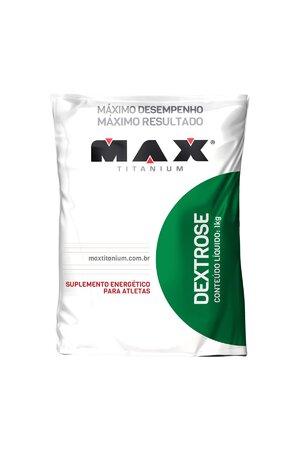 Carboidrato Dextrose - Max Titanium - 1Kg