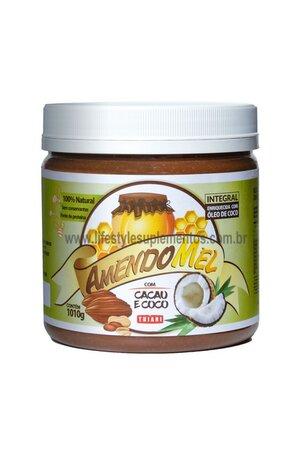 Pasta De Amendoim Amendomel Crocante Com Cacau Thiani