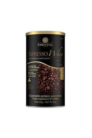 Espresso Whey Cafe Lata 462g Essential Nutrition