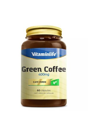 Café Verde - Green Coffee - 400 mg - Vitaminlife
