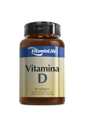 Vitamina D - 60 Caps - VitaminLife