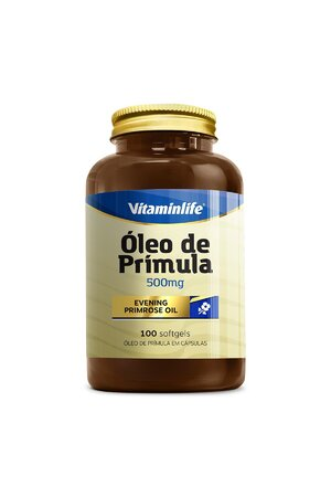Óleo de Prímula - 100 Cápsulas Vitaminlife