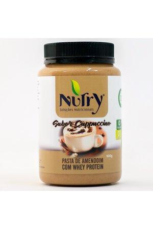 Pasta de Amendoim com Whey Protein - Nutry