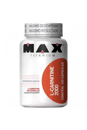 L-Carnitine 2000 120 Cáps - Max Titanium