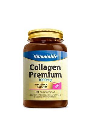 Collagen Premium 60 Comprimidos - Vitaminlife