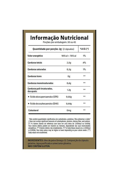 Super Ômega 3 1000mg 90 cápsulas - Essential Nutrition