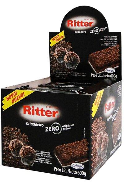 Barra de Cereal Zero Açúcar - Caixa c/24 Unidades
