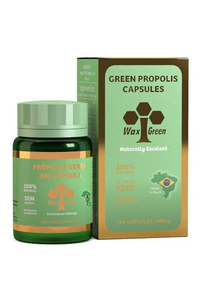 Wax Green 100Cápsulas(80%Extrato Seco)
